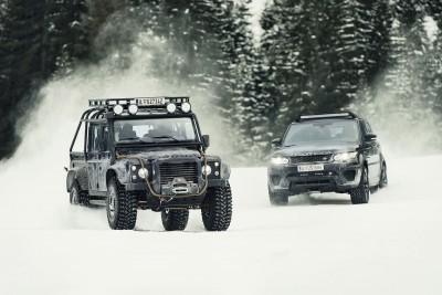 007 SPECTRE Bond Cars - Jaguar CX-75 Land Rover RRS SVR 2