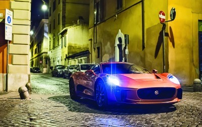 007 SPECTRE Bond Cars - Jaguar CX-75 Land Rover RRS SVR 25