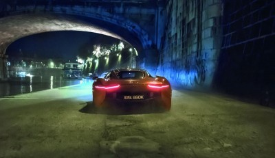 007 SPECTRE Bond Cars - Jaguar CX-75 Land Rover RRS SVR 27
