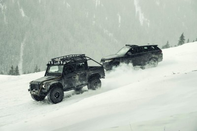 007 SPECTRE Bond Cars - Jaguar CX-75 Land Rover RRS SVR 3