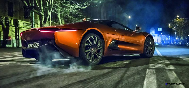 007 SPECTRE Bond Cars - Jaguar CX-75 Land Rover RRS SVR 31