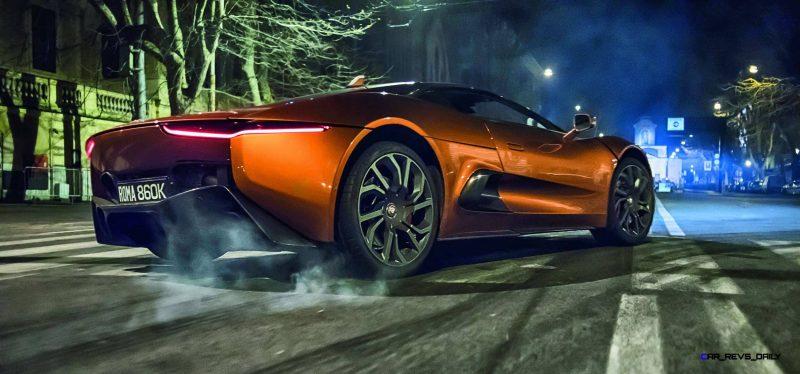 007 SPECTRE Bond Cars - Jaguar CX-75 Land Rover RRS SVR 31