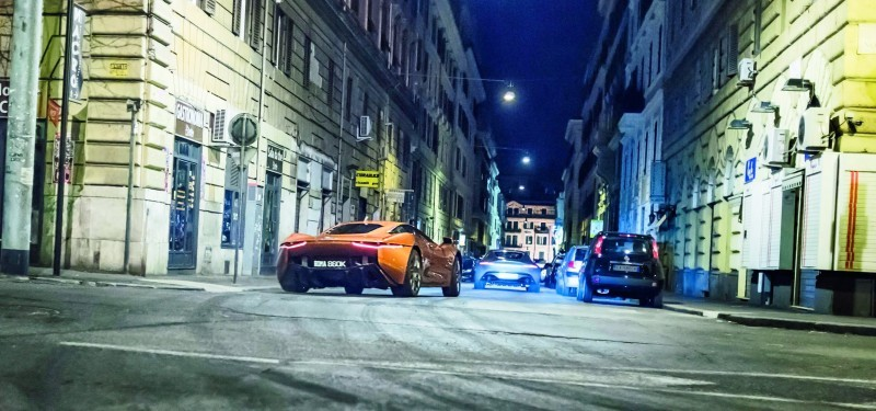 007 SPECTRE Bond Cars - Jaguar CX-75 Land Rover RRS SVR 32