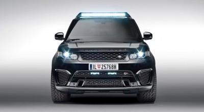 007 SPECTRE Bond Cars - Jaguar CX-75 Land Rover RRS SVR 35
