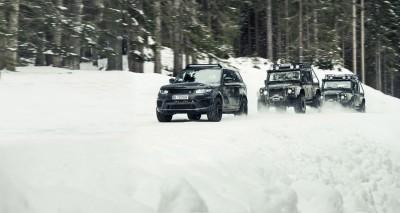 007 SPECTRE Bond Cars - Jaguar CX-75 Land Rover RRS SVR 6