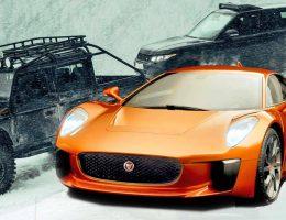 007 SPECTRE Bond Cars – Jaguar CX-75, Defender and RRS in Mouthwatering 99-Photo Closeups