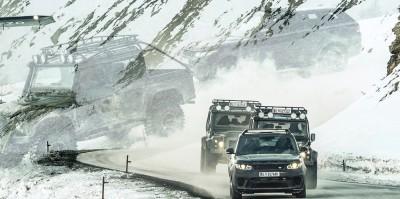 007 SPECTRE Bond Cars - Land Rover 8
