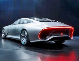 Watch the Adaptive Bodywork of the 2015 Mercedes-Benz Concept IAA Via New Animations