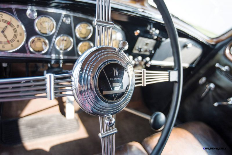 1937 Cadillac V16 Fleetwood Limousine 32