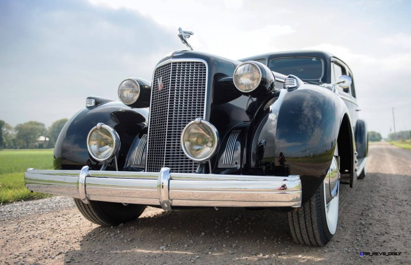 1937 Cadillac V16 Fleetwood Limousine 33