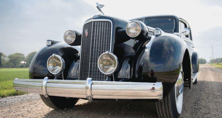 1937 Cadillac V16 Fleetwood Limousine