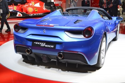 2.9s, 203MPH 2016 Ferrari 488 Spider - Frankfurt Gallery + Engine Audio MP3s 14