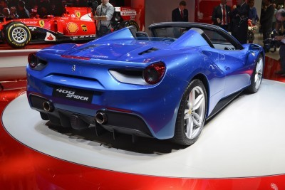 2.9s, 203MPH 2016 Ferrari 488 Spider - Frankfurt Gallery + Engine Audio MP3s 16