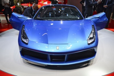 2.9s, 203MPH 2016 Ferrari 488 Spider - Frankfurt Gallery + Engine Audio MP3s 2