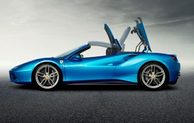 2.9s, 203MPH 2016 Ferrari 488 Spider - Frankfurt Gallery + Engine Audio MP3s 26