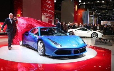 2.9s, 203MPH 2016 Ferrari 488 Spider - Frankfurt Gallery + Engine Audio MP3s 27