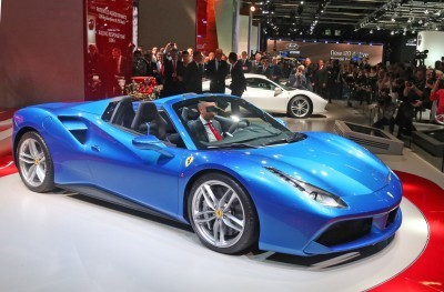 2.9s, 203MPH 2016 Ferrari 488 Spider - Frankfurt Gallery + Engine Audio MP3s 28