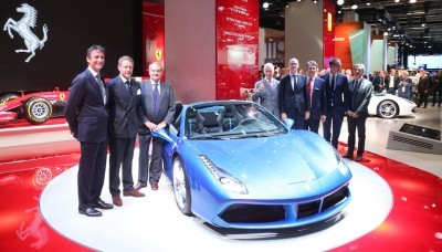 2.9s, 203MPH 2016 Ferrari 488 Spider - Frankfurt Gallery + Engine Audio MP3s 29