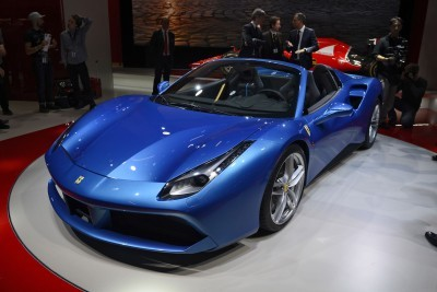 2.9s, 203MPH 2016 Ferrari 488 Spider - Frankfurt Gallery + Engine Audio MP3s 3