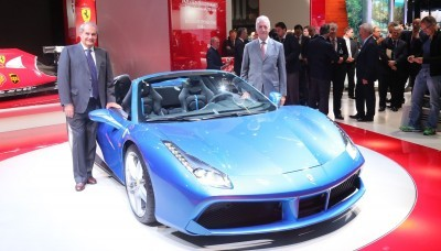 2.9s, 203MPH 2016 Ferrari 488 Spider - Frankfurt Gallery + Engine Audio MP3s 31