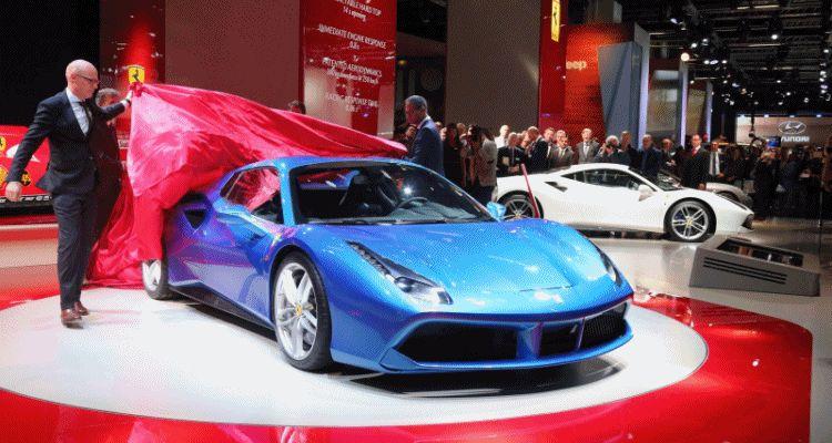 2.9s, 203MPH 2016 Ferrari 488 Spider - Frankfurt Gallery + Engine Audio MP3s