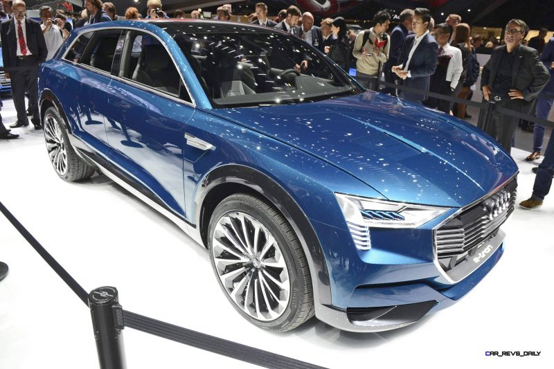 2015 Audi E-Tron Quattro Concept - Frankfurt IAA Debut 1