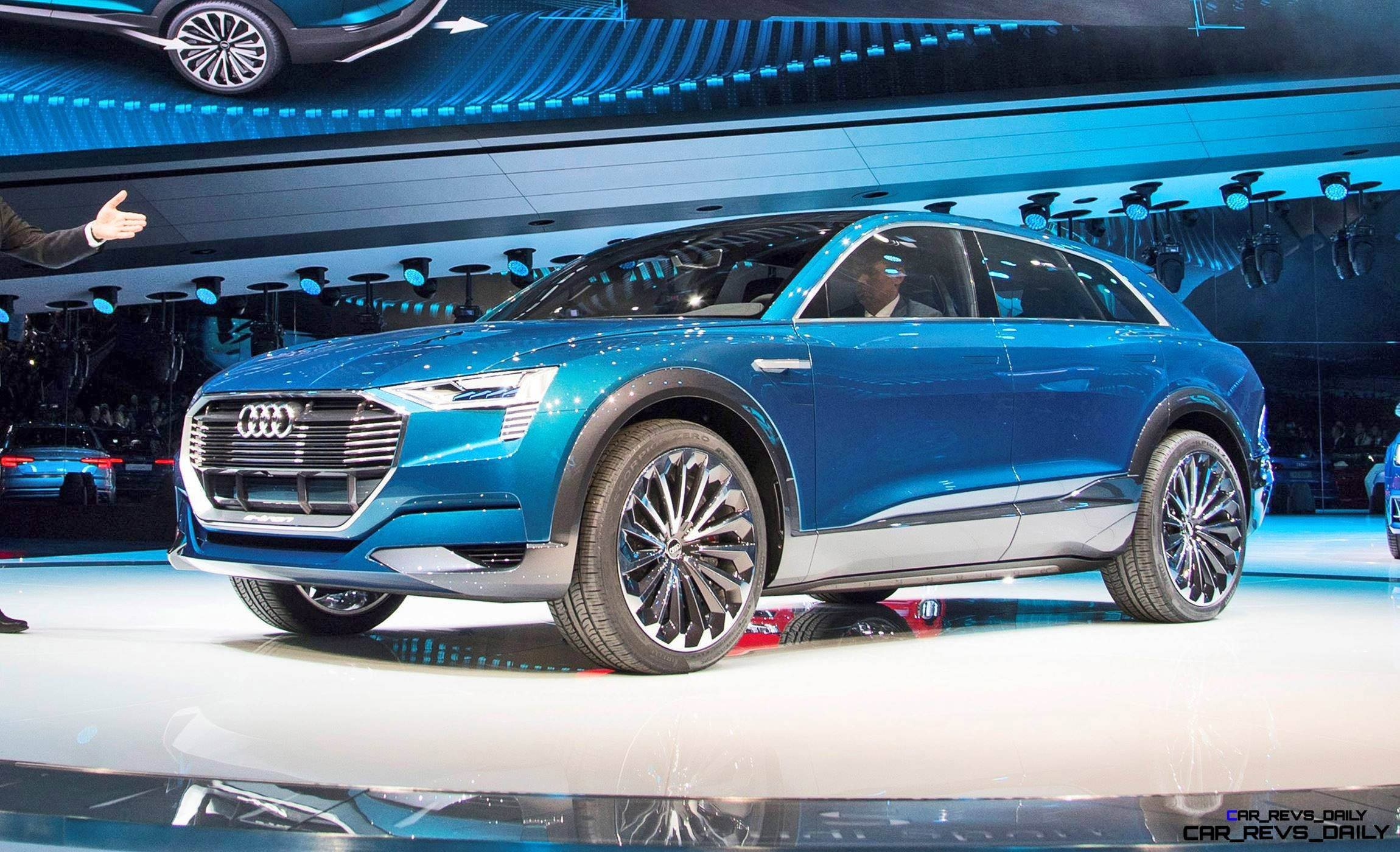 Update1 with 25 New Photos – 2015 Audi E-Tron Quattro Concept is Sexy but Pointless EV SUV
