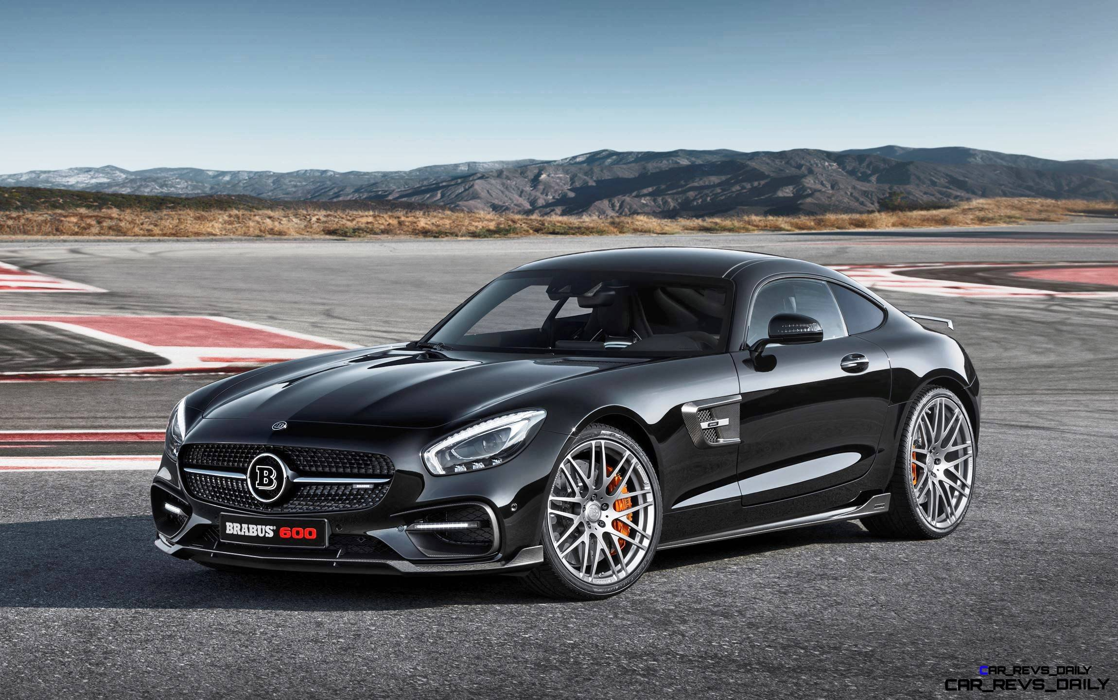 2015 BRABUS Mercedes-AMG GT-S 1