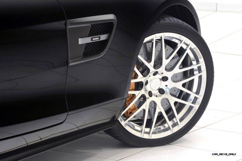 2015 BRABUS Mercedes-AMG GT-S 26