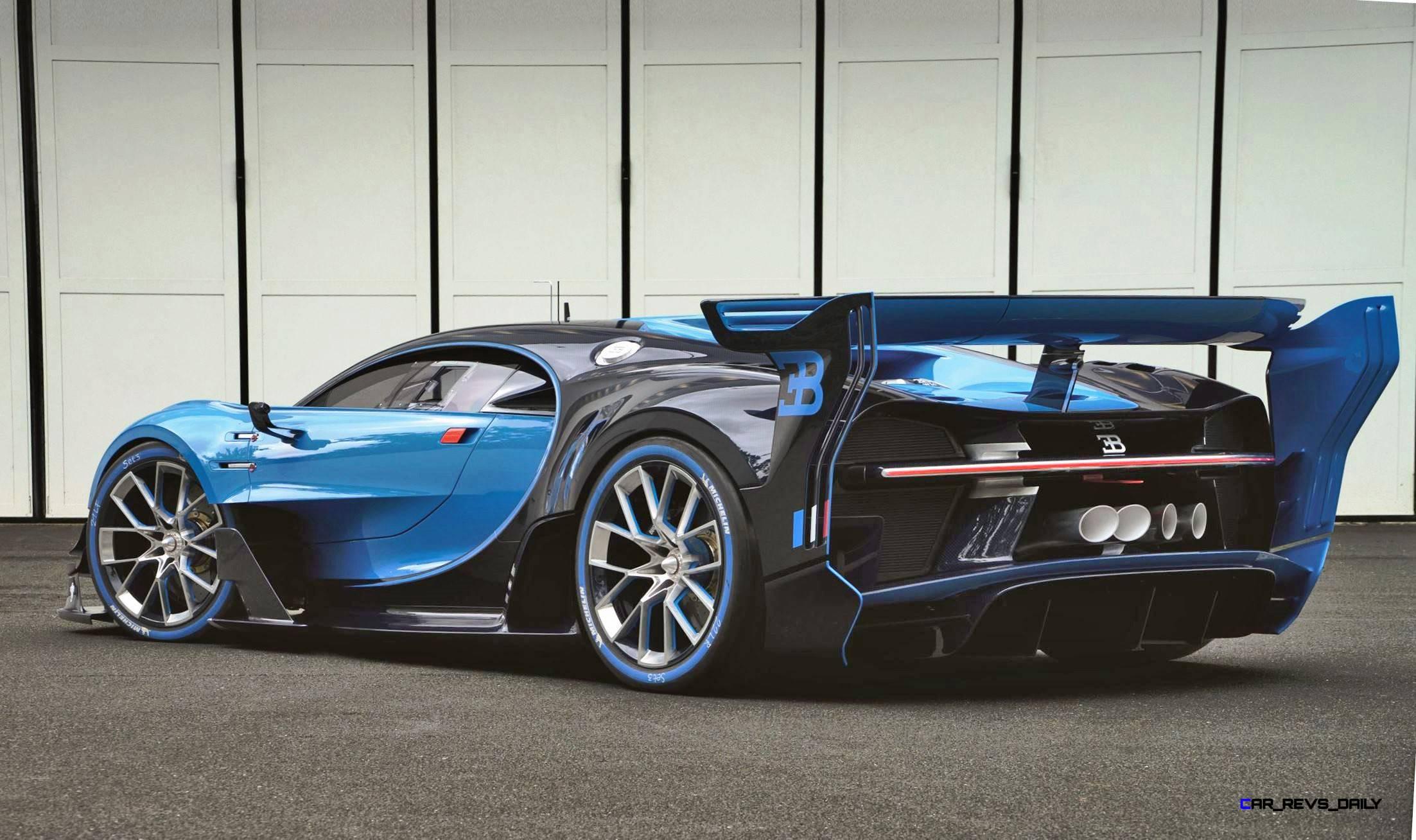 2017 Bugatti CHIRON Official Preview 2015 Bugatti Vision Gran Turismo