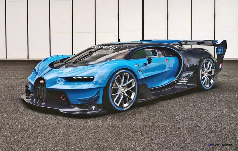 2015 Bugatti Vision Gran Turismo Frankfurt 2