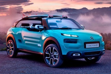2015 Citroen Cactus M Concept – Jolly Surf Special Runs Inflatable AirFrame Soft-Top
