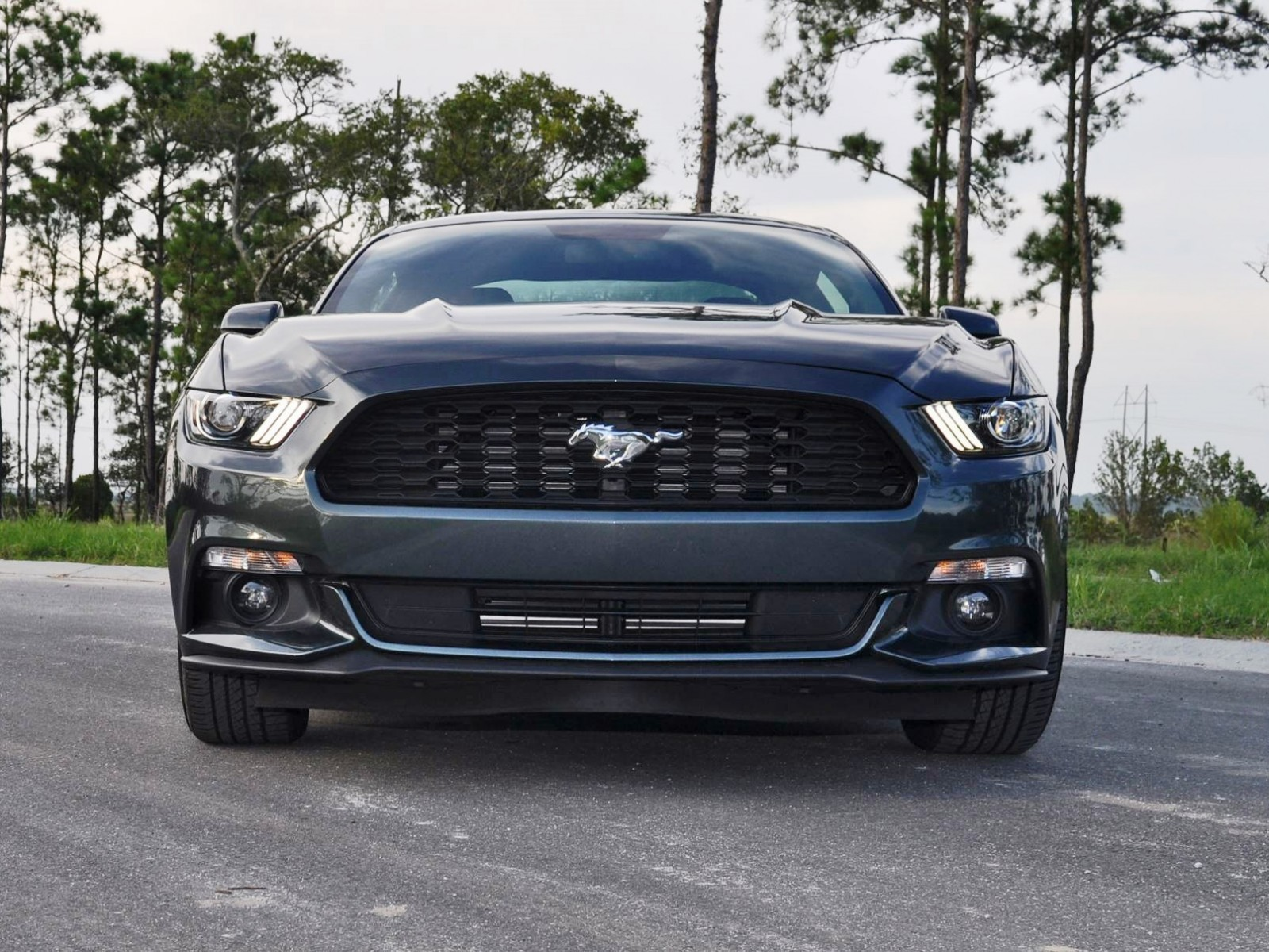 2015 ford mustang ecoboost automatic review 14. Black Bedroom Furniture Sets. Home Design Ideas