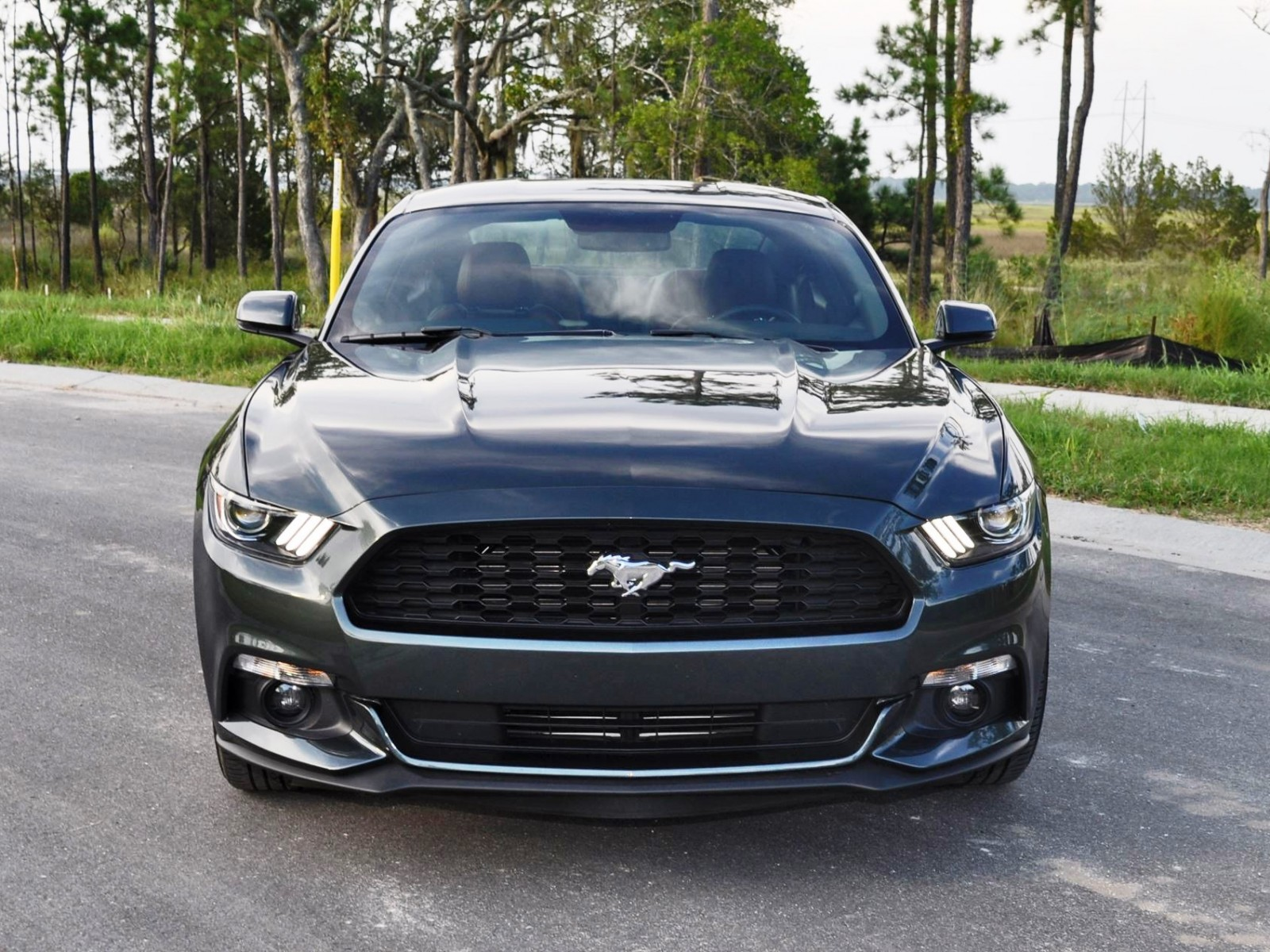 2015 ford mustang ecoboost automatic review 15. Black Bedroom Furniture Sets. Home Design Ideas
