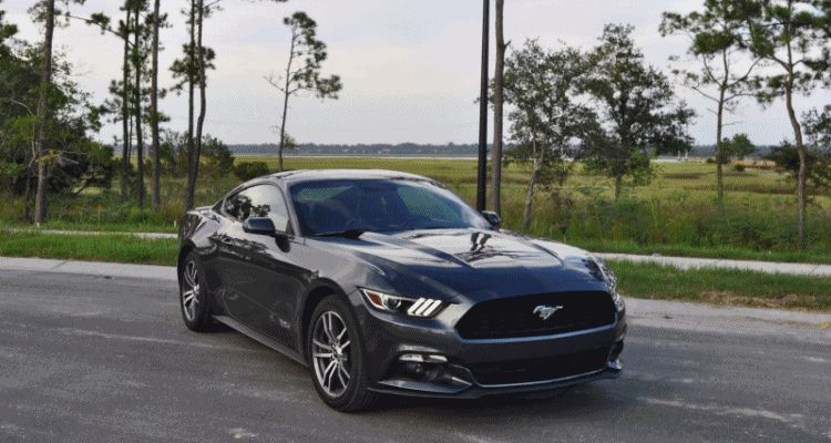 2015 Ford Mustang EcoBoost Automatic Review 222