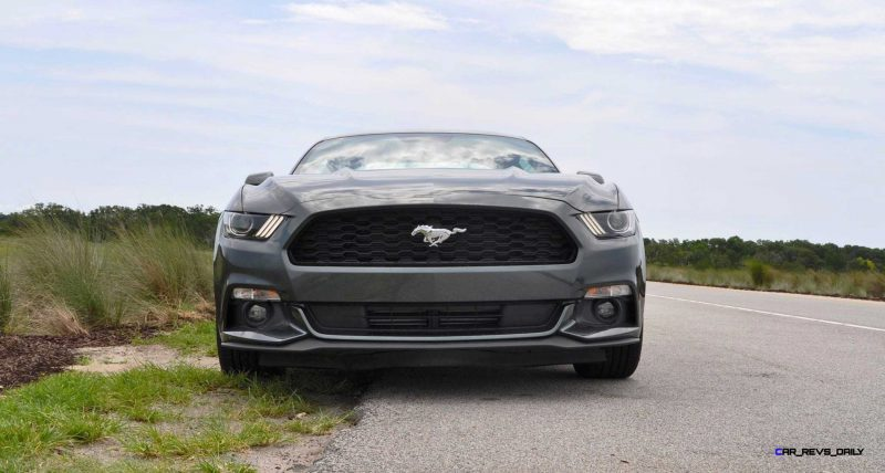 2015 Ford Mustang EcoBoost Automatic Review 62