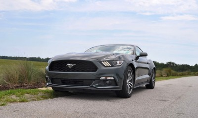 2015 Ford Mustang EcoBoost Automatic Review 66