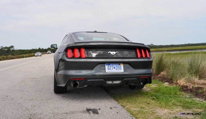 2015 Ford Mustang EcoBoost Automatic Review 68
