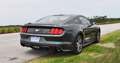2015 Ford Mustang EcoBoost Automatic Review 71