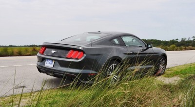2015 Ford Mustang EcoBoost Automatic Review 72