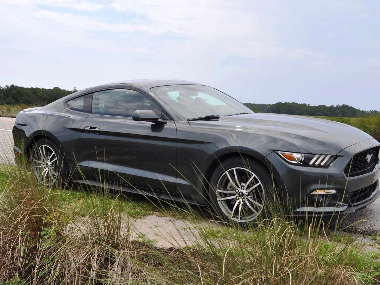 2015 ford mustang ecoboost automatic review 75. Black Bedroom Furniture Sets. Home Design Ideas