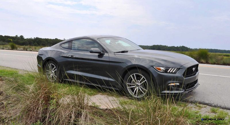 2015 Ford Mustang EcoBoost Automatic Review 75