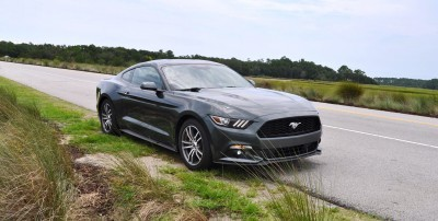 2015 Ford Mustang EcoBoost Automatic Review 76