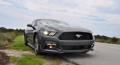 2015 Ford Mustang EcoBoost Automatic Review 77