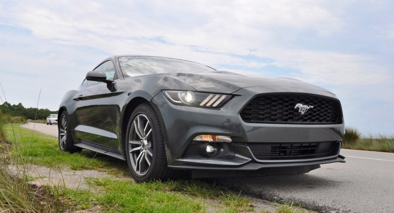 2015 Ford Mustang EcoBoost Automatic Review 78