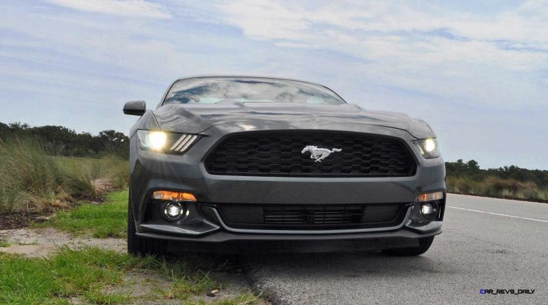 2015 Ford Mustang EcoBoost Automatic Review 79