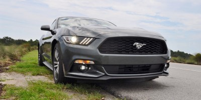 2015 Ford Mustang EcoBoost Automatic Review 83