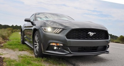 2015 Ford Mustang EcoBoost Automatic Review 84