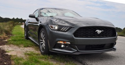 2015 Ford Mustang EcoBoost Automatic Review 85