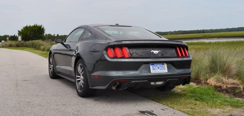 2015 Ford Mustang EcoBoost Automatic Review 86